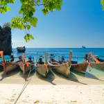 Sea View Hillside Thai Beach Land Krabi